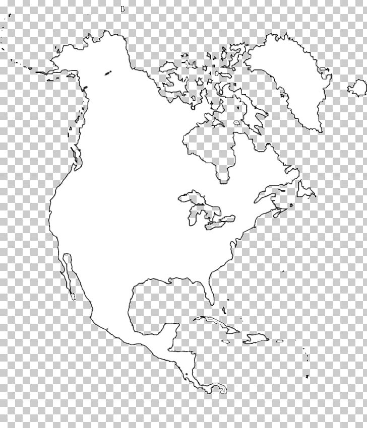 Blank Map United States Central America Paper PNG, Clipart ...
