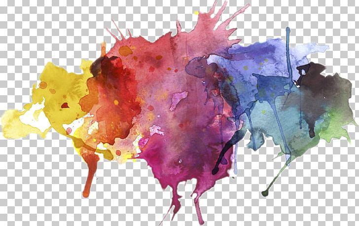Watercolor Painting PNG, Clipart, Abstract Art, Art, Color, Color Splash, Drip Painting Free PNG Download