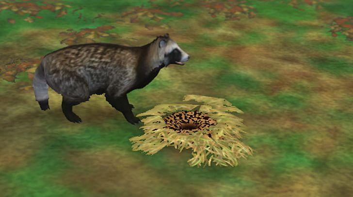 Zoo Tycoon 2: Extinct Animals Space Hack Raccoon PNG