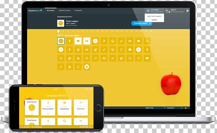 Rosetta Stone Smartphone Fluenz Language Multimedia PNG