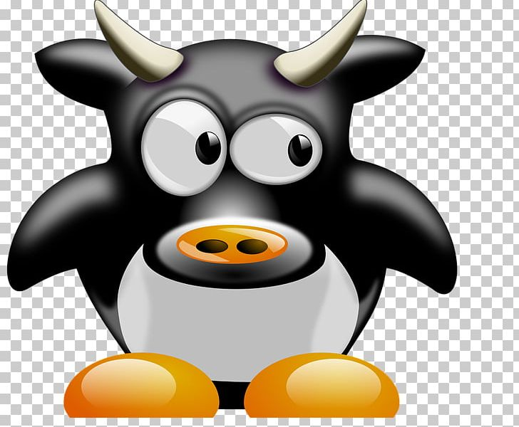 Cattle Penguin Bull Ox Sheep PNG, Clipart, Agriculture