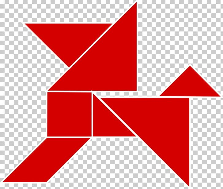 Tangram Parallelogram Triangle Wikimedia Commons Square Png