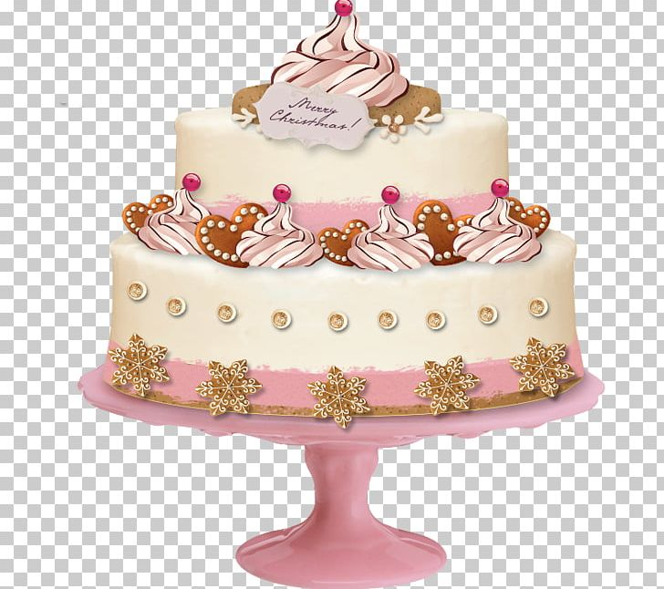 Christmas Cake Decorating Ideas With Buttercream.Wedding Cake Birthday Cake Christmas Cake Png Clipart
