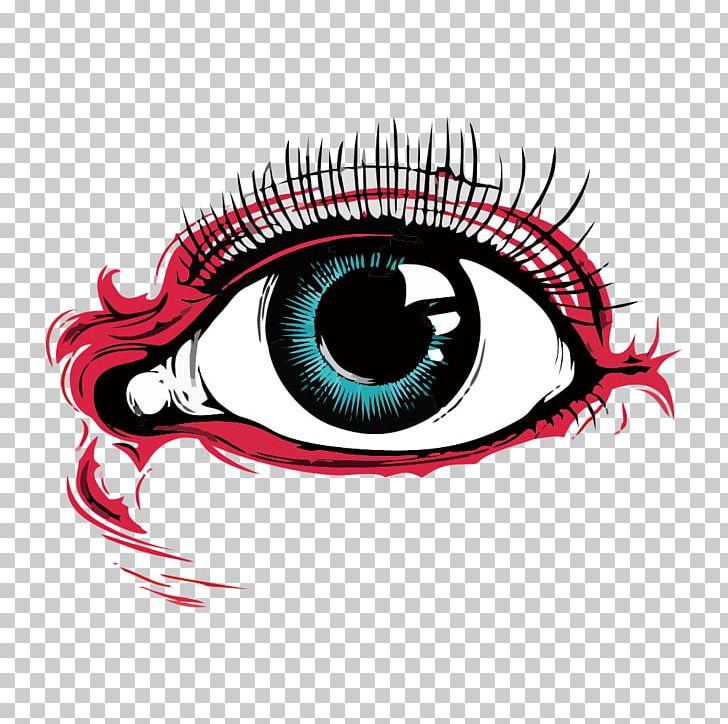Human Eye Drawing Png Clipart Blue Eyes Bright Cartoon