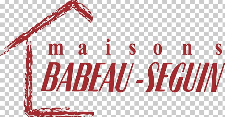 Logo Maisons Babeau-Seguin House Font Brand PNG, Clipart, Brand, Customer, Future Tense, House, Line Free PNG Download
