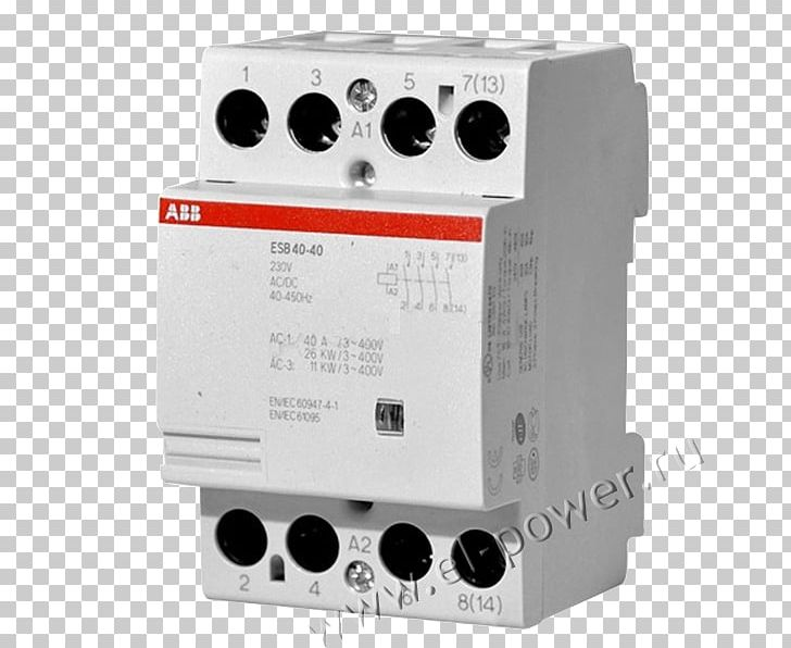 ABB ESB Instalation Contactor 4 Pole GHE3491102R0006 ABB ... Abb A Phase Contactor Wiring Diagram on