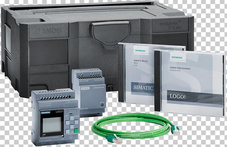Logo Programmable Logic Controllers WinCC Siemens Simatic Step 7 PNG