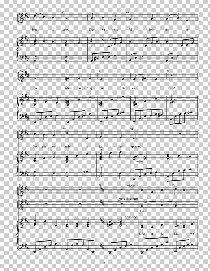 Sheet Music The Phantom Of The Opera Piano Accompaniment PNG