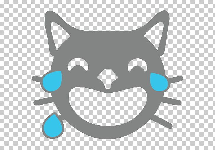 Face With Tears Of Joy Emoji Whiskers Meaning Emoticon PNG, Clipart, Black, Blue, Carnivoran, Cartoon, Cat Free PNG Download