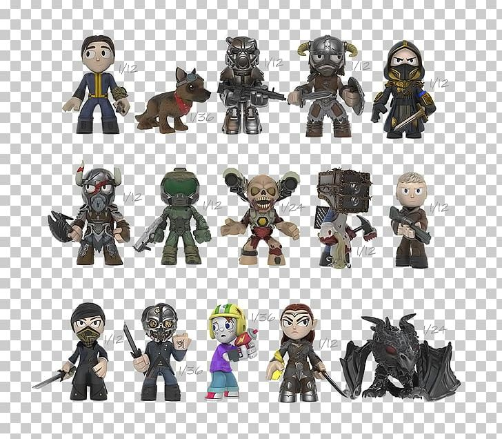 DOOM Bethesda Softworks Fallout 4 Blindbox cz Action & Toy