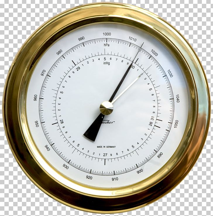 Aneroid Barometer Weather Station Inch Of Mercury Millibar PNG ...