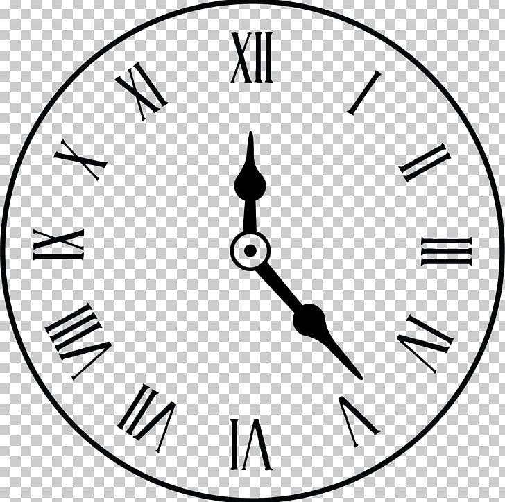 Clock Face Alarm Clock Roman Numerals PNG, Clipart, Area, Black, Black And White, Black Background, Black Clo Free PNG Download