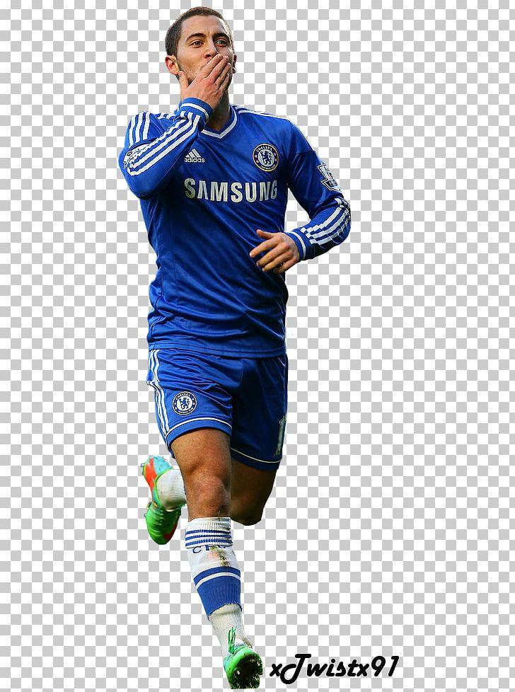 premium selection 64fcd 826aa Eden Hazard Chelsea F.C. Jersey 2017–18 Premier League ...