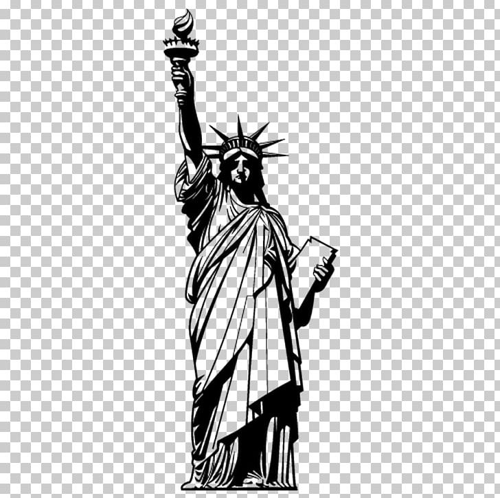 Statue Of Liberty Monument PNG, Clipart, Black And White, Building, Cold Weapon, Costume Design, Download Free PNG Download