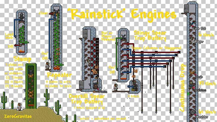 Terraria Engine Room Machine Schematic PNG, Clipart, Diagram
