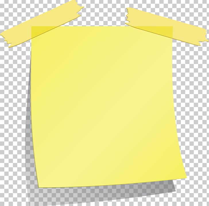 Paper Post-it Note Adhesive Tape Yellow PNG, Clipart, Adhesive Tape, Angle, Baby Blue, Blue, Cartoon Free PNG Download