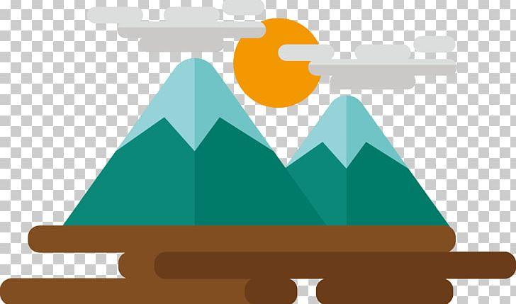 Mountain cute. Cartoon icon png clipart