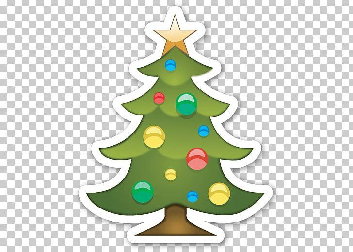 Christmas Tree Emoji Wallpaper