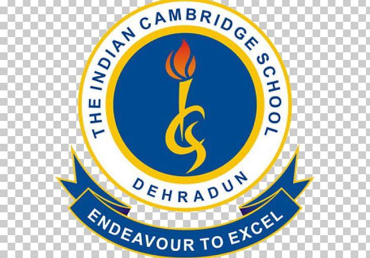 The Indian Cambridge School Logo Education Emblem Png Clipart Area Brand Dehradun Education Emblem Free Png