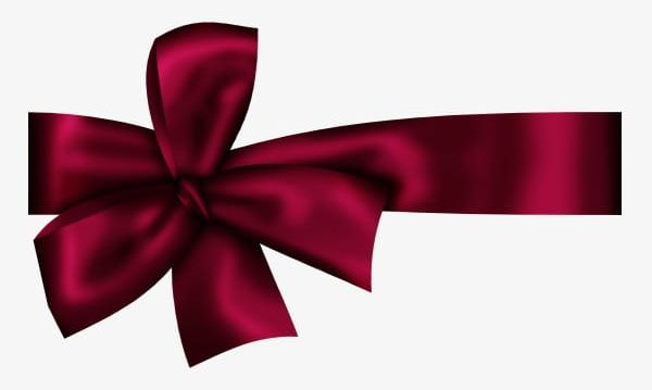 Dark Red Bow PNG, Clipart, Anniversary, Backgrounds