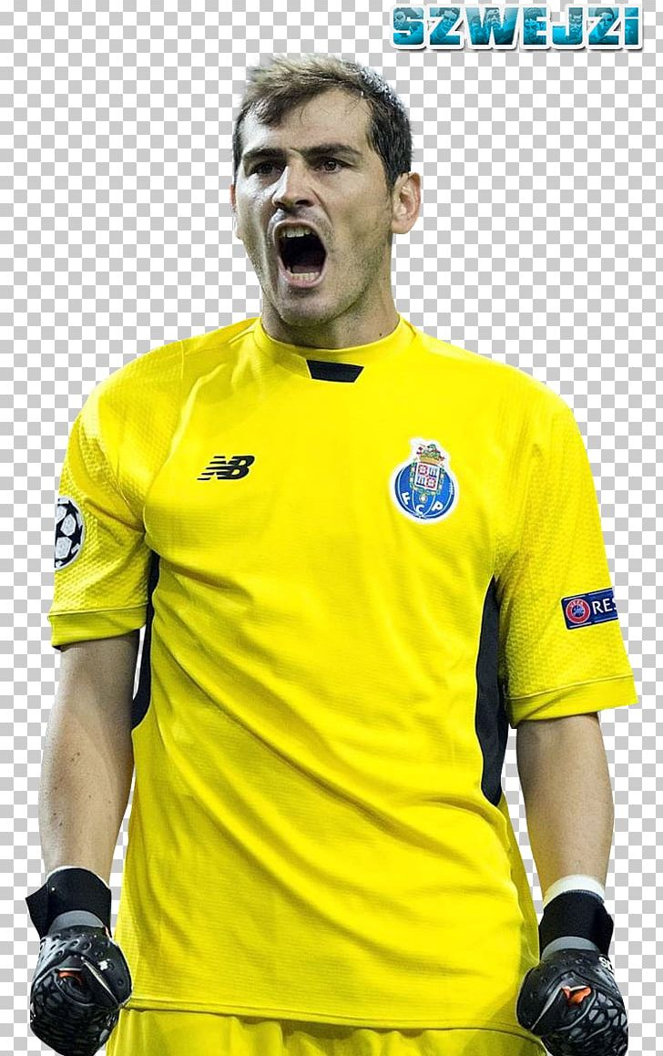 brand new f557c 16072 Iker Casillas FC Porto Football Player Jersey PNG, Clipart ...