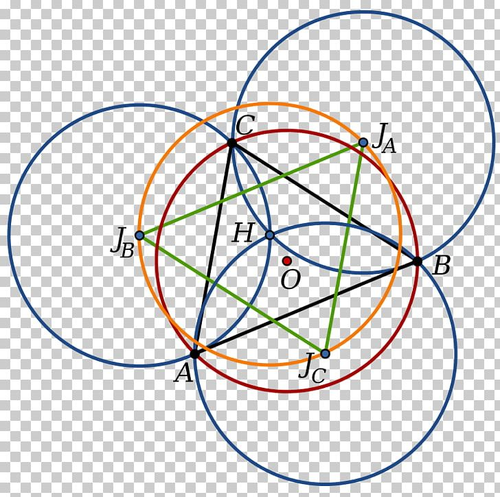 Johnson Circles Theorem Triangle Geometry PNG, Clipart, Angle