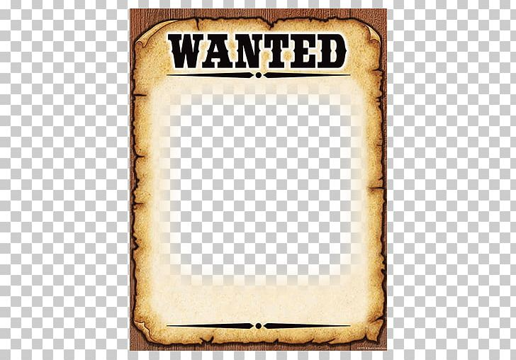 photo about Printable Wanted Poster called Preferred Poster Template American Frontier PNG, Clipart