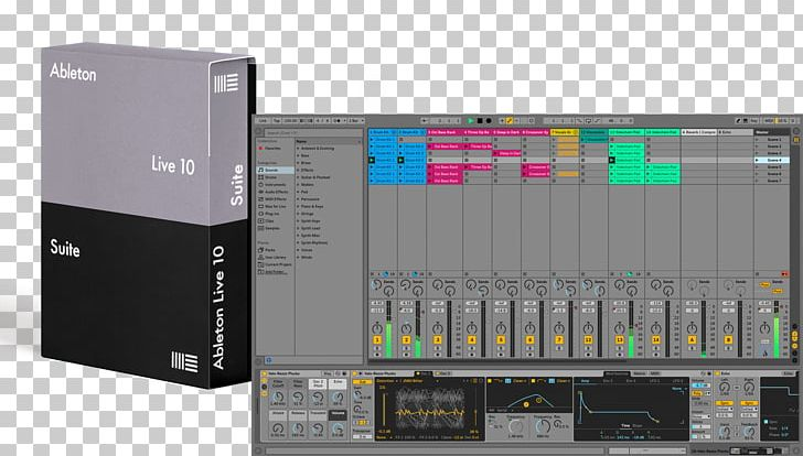 Ableton Live Musical Instruments Multitrack Recording PNG