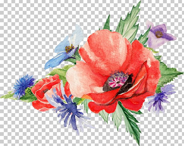 Watercolor: Flowers Poppy Art Painting PNG, Clipart, Annual Plant, Art, Artificial Flower, Color, Creative Arts Free PNG Download
