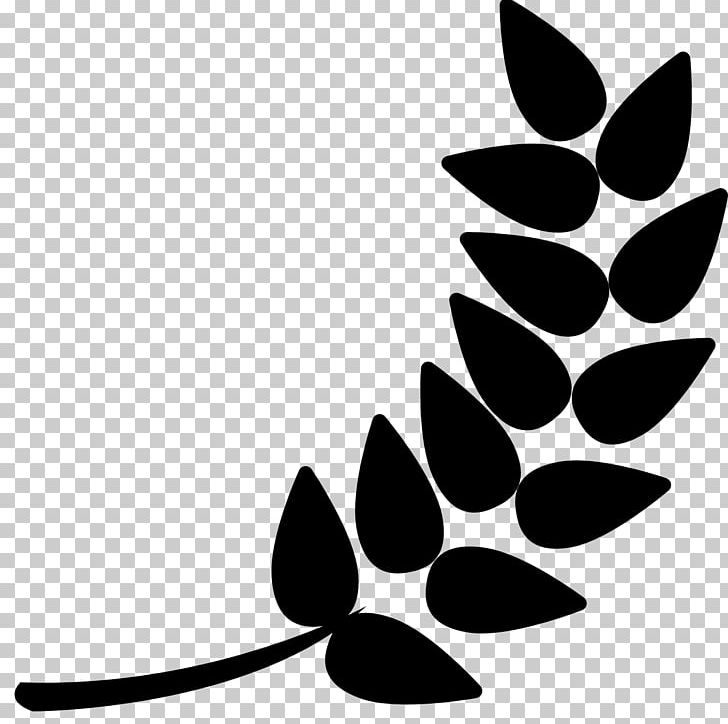Computer Icons PNG, Clipart, Artwork, Barley, Black, Black And White, Branch Free PNG Download