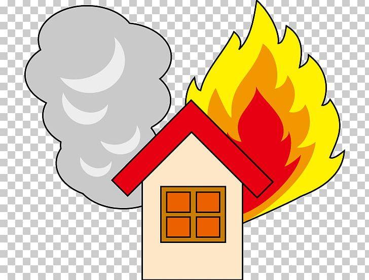 Fire building. Myojo conflagration naka ku
