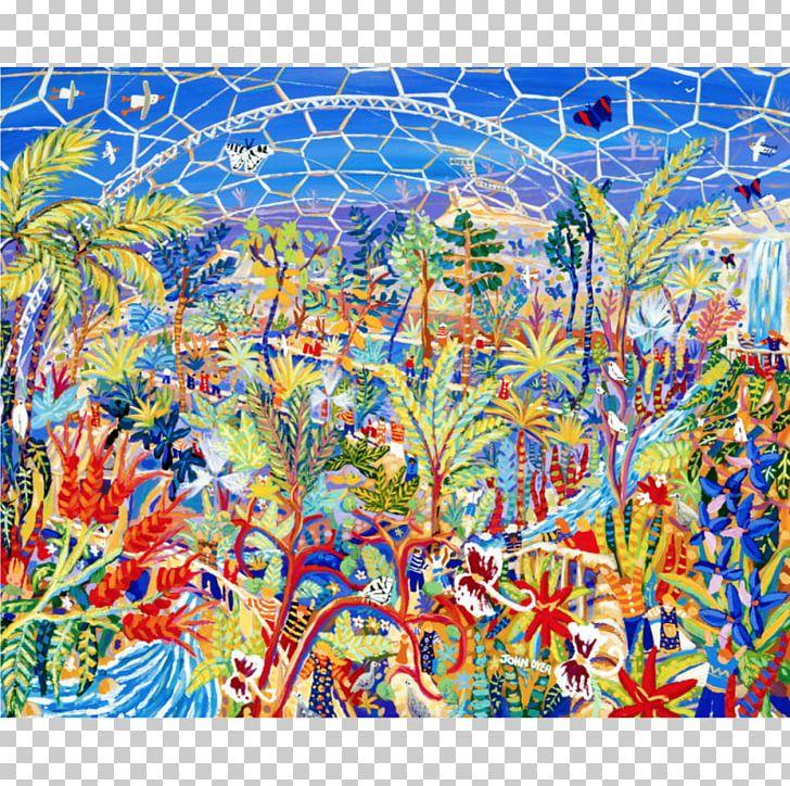 Painting Majorelle Blue Eden Project Acrylic Paint Majorelle