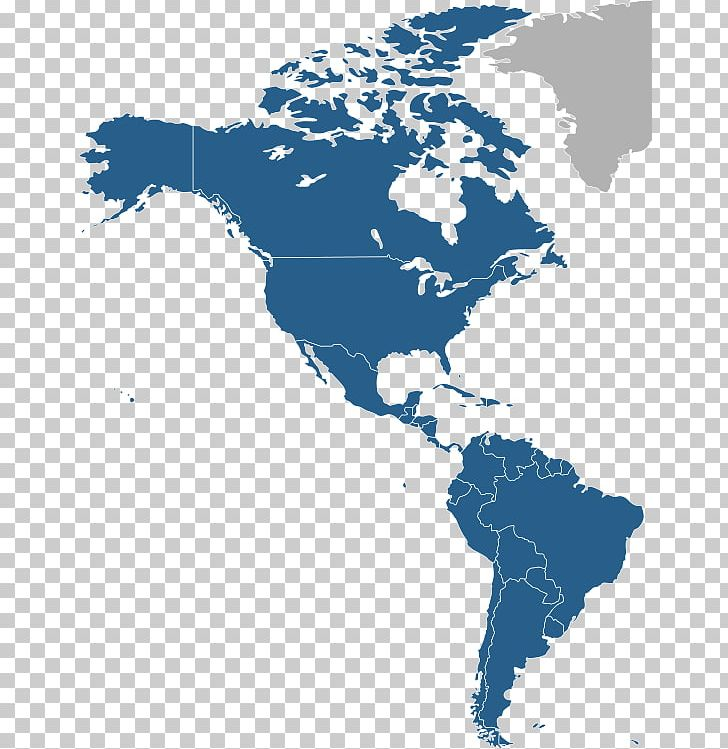 United States South America Canada Map Continent PNG ...