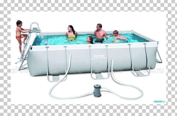 Swimming Pools Bestway Power Steel Rectangular Frame Pool ...