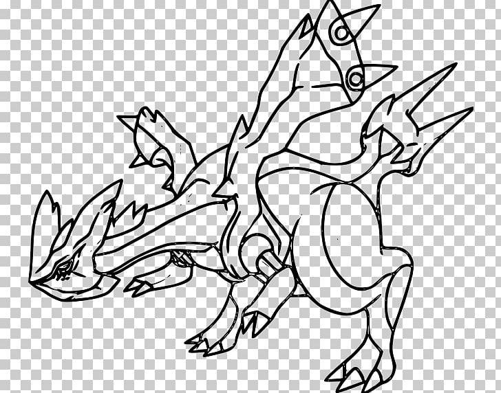 Pokemon Black White Kyurem Coloring Book Pokemon Zekrom Png Clipart Art Artwork Black And White