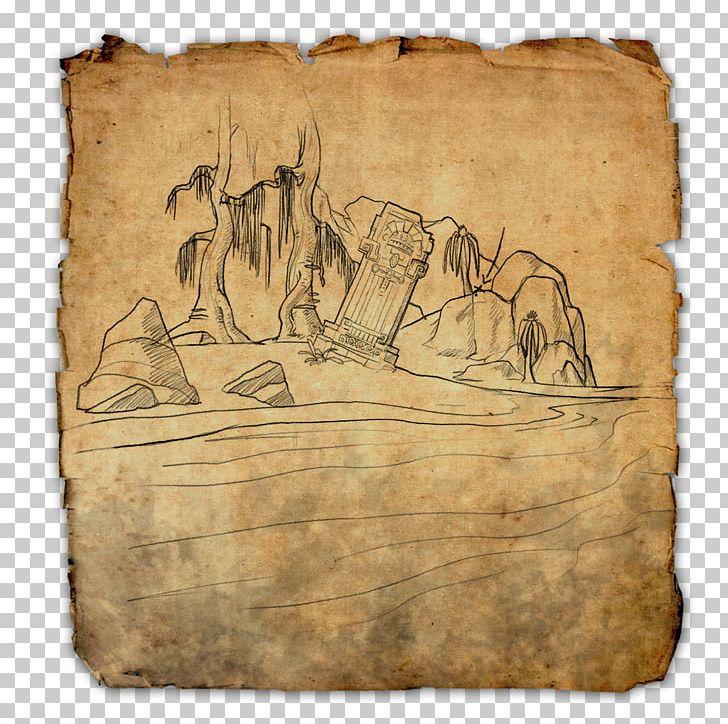 The Elder Scrolls Online: Tamriel Unlimited Treasure Map PNG ...
