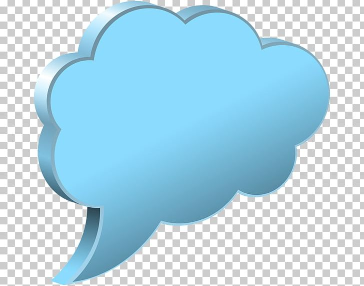 Cloud Speech Balloon Callout PNG, Clipart, Aqua, Azure