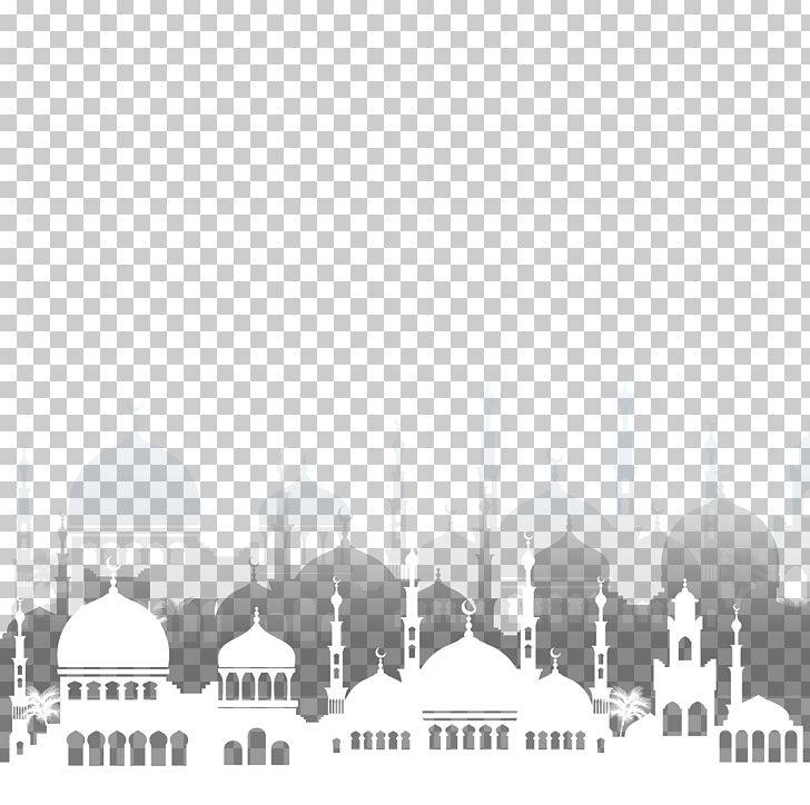 Eid Al-Fitr Eid Al-Adha Ramadan Mosque PNG, Clipart, Arc, Background, Black And White, Brand, Computer Wallpaper Free PNG Download