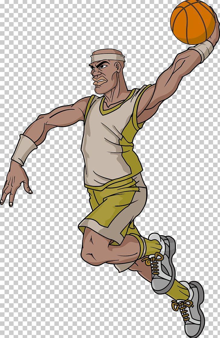 Nba Basketball Cartoon Character Png Clipart Arm Art Athlete