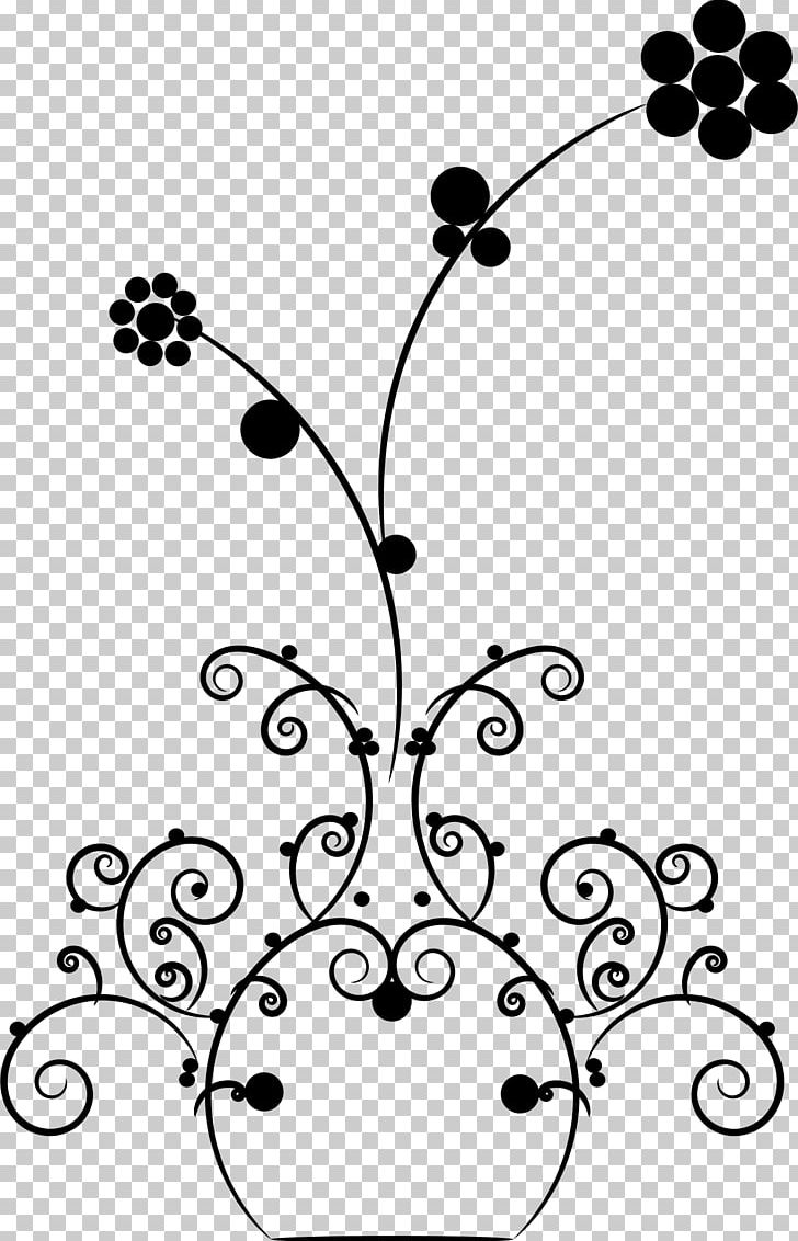 Flowers In A Vase Drawing A Vase Of Flowers Png Clipart