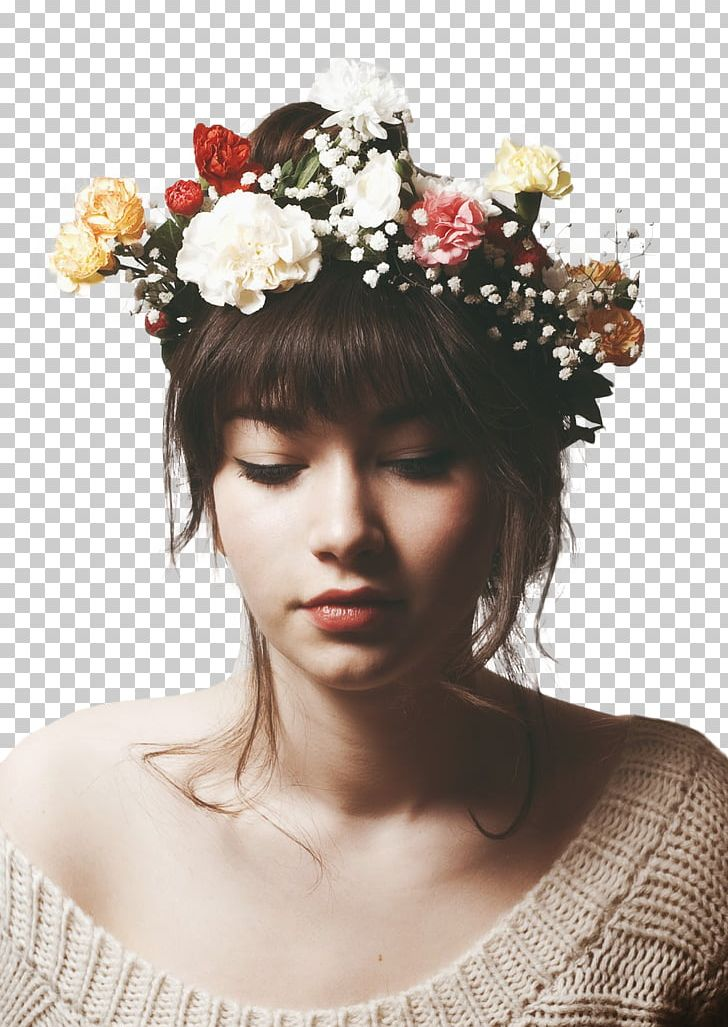Crown Flower Wreath Headband Girl PNG, Clipart, Brown Hair, Crown, Drawing, Fashion, Fashion Accessory Free PNG Download
