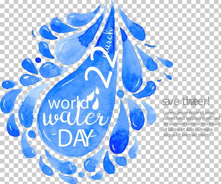Water Drop Euclidean Durfort PNG, Clipart, Blue, Blue Background, Brand, Computer Icons, Conserve Water Free PNG Download