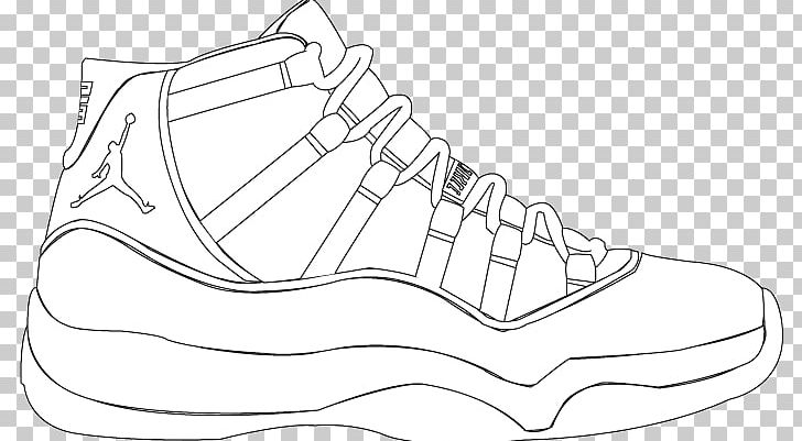 Colouring Pages Nike Air Max Air Jordan Coloring Book Png Clipart
