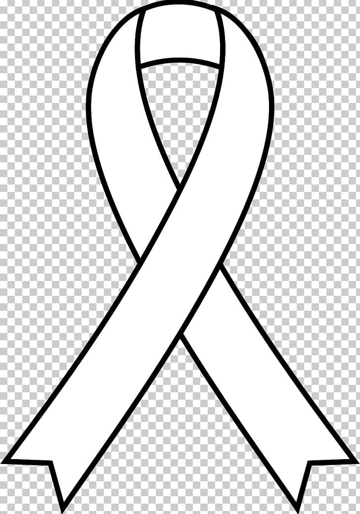 Awareness Ribbon Cancer Png Clipart Aids Angle Area Awareness Black Free Png Download