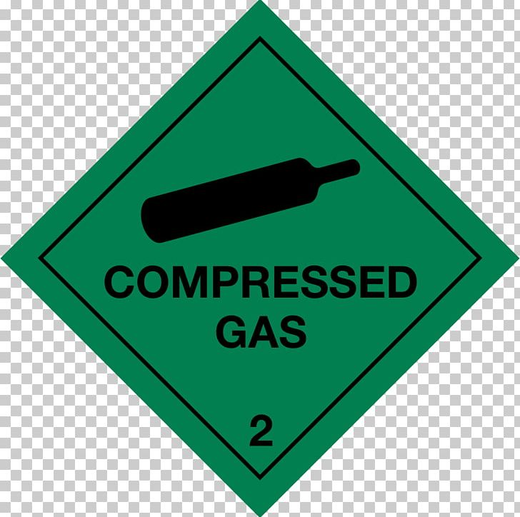 Sign Gas Cylinder Combustibility And Flammability Label PNG