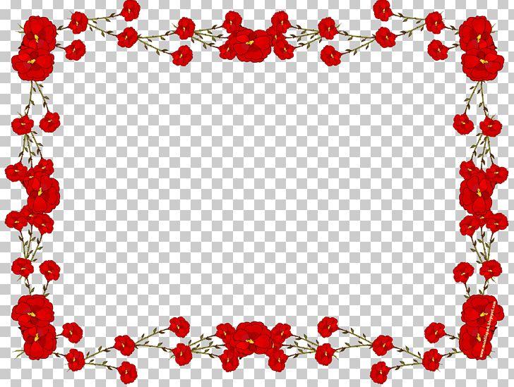 Frame Flower Rose PNG, Clipart, Area, Border Frames, Clip