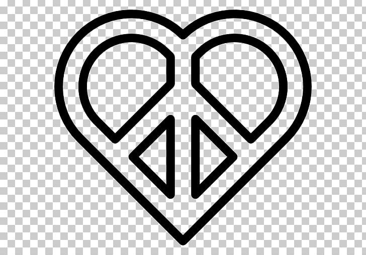 Peace Symbols Heart Pacifism PNG, Clipart, Angle, Area, Black And White, Computer Icons, Heart Free PNG Download