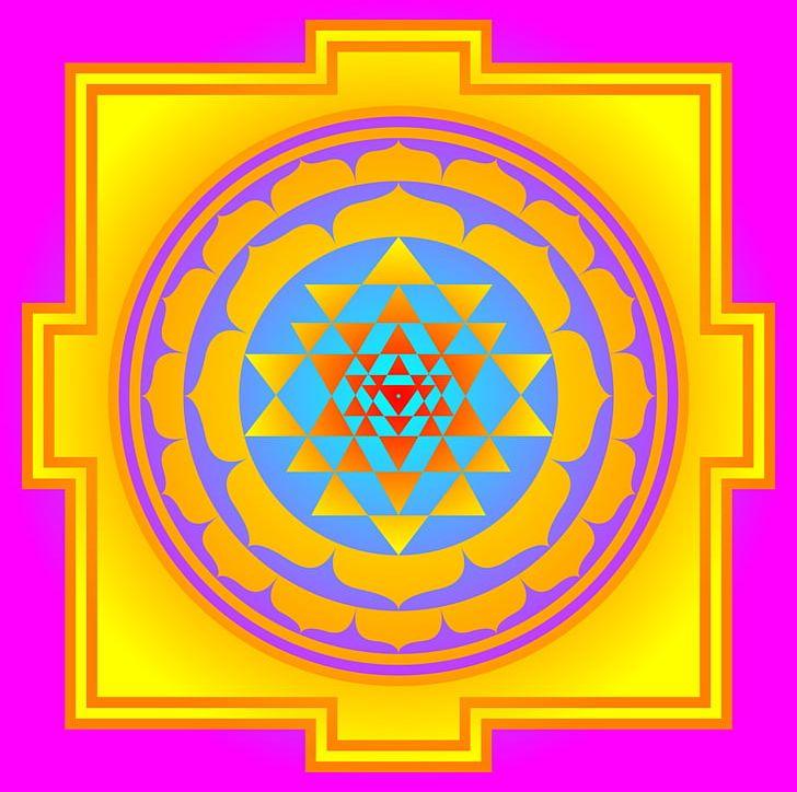 Ganesha Mantra Sri Yantra Tripura Sundari PNG, Clipart, Area