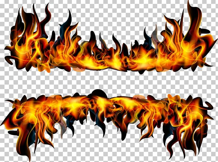 Flame Fire Banner Combustion Png Clipart Banner Burning