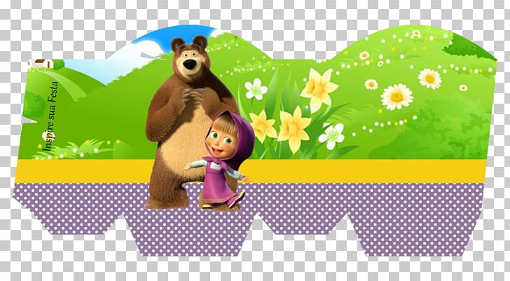 Bear Masha Party Convite Paper Png Clipart Animals Art